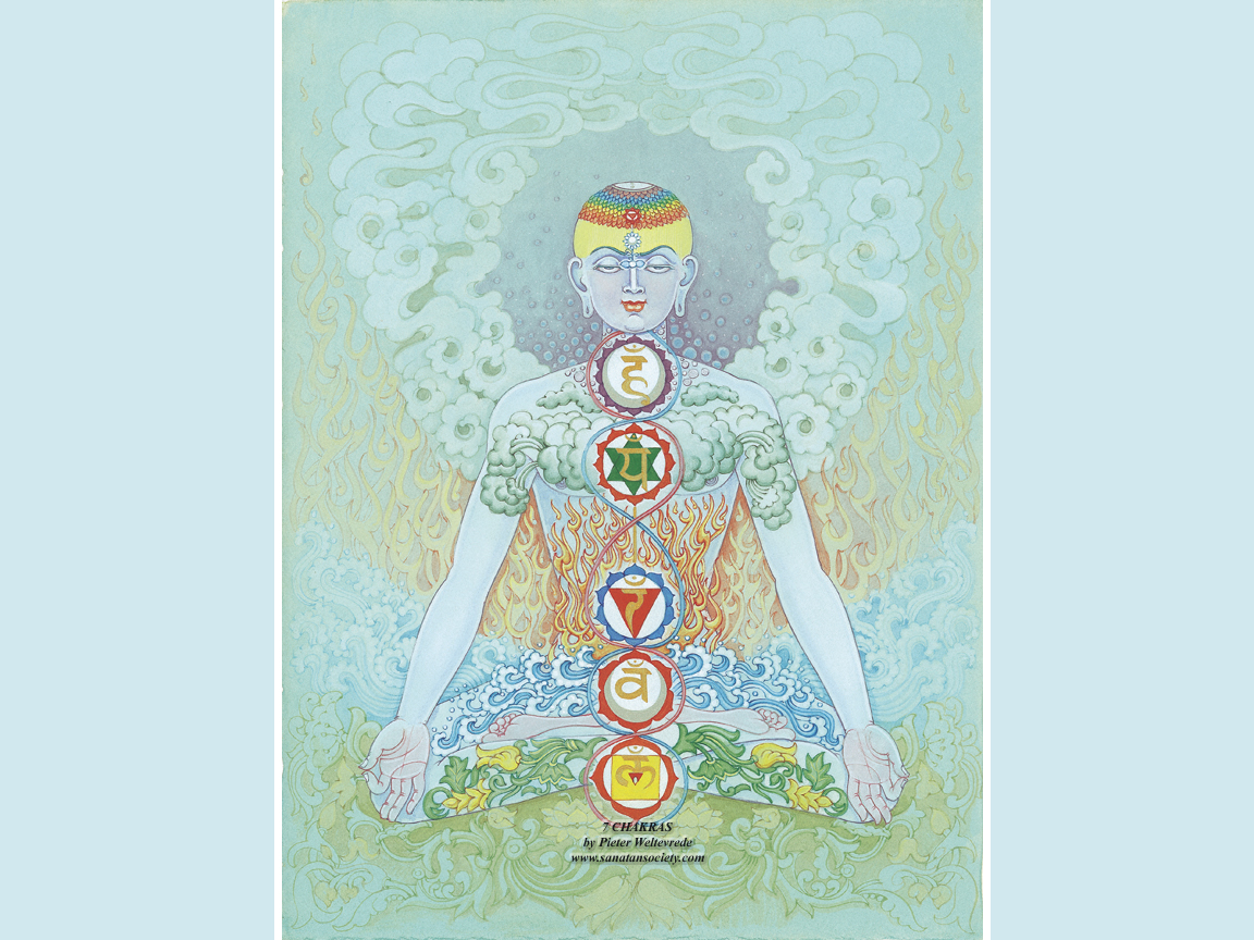 The seven chakras and the elements including main chakra sounds 1152x864