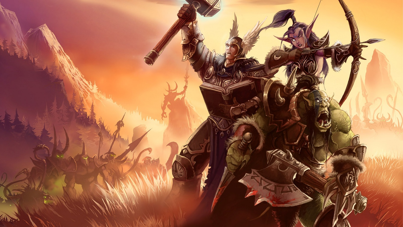 Free Download 1366x768 World Of Warcraft Desktop Pc And Mac
