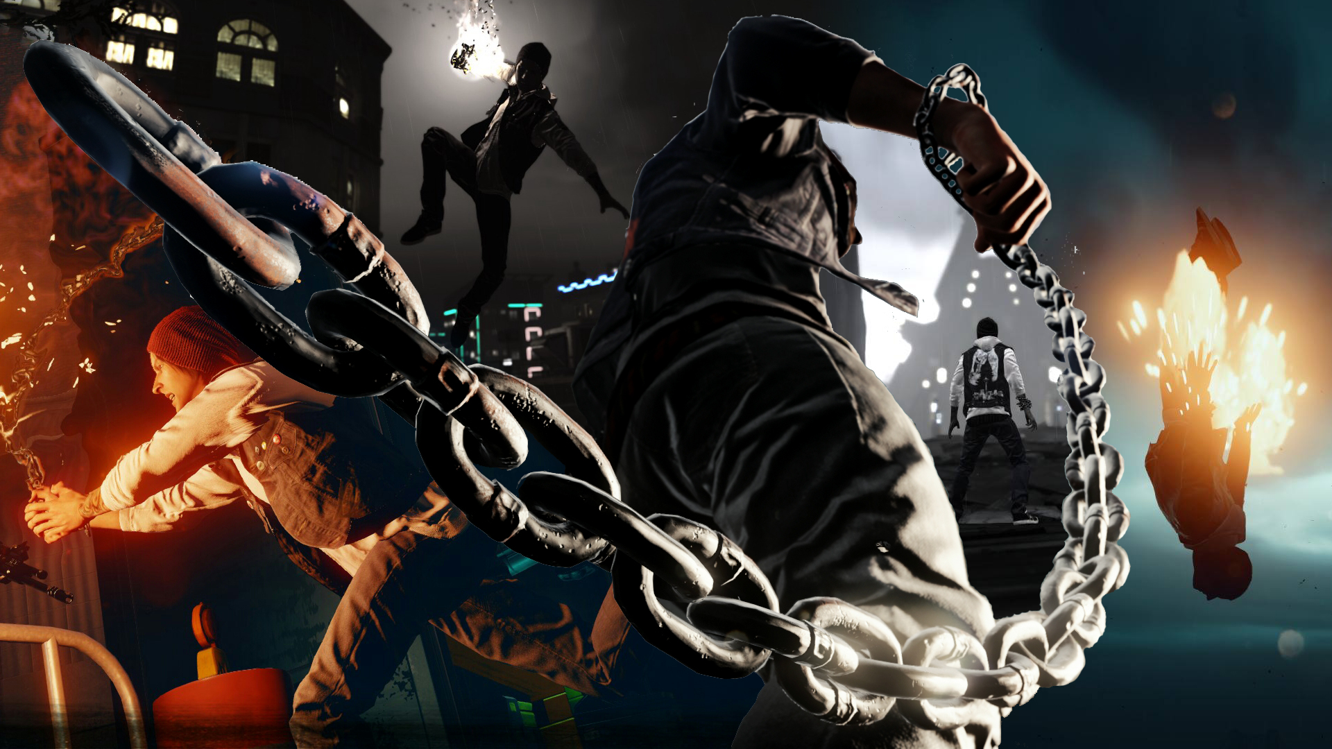 inFAMOUS Second Son HD Wallpapers and Background Images   stmednet 1920x1080