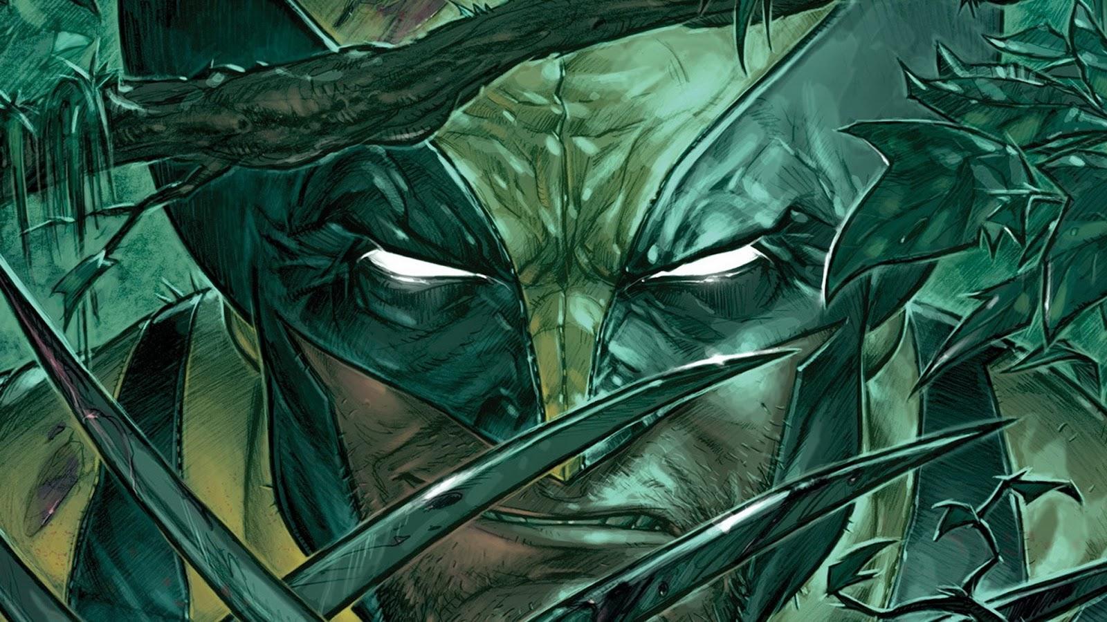 Wolverine X Men Comic Marvel Heroes Superhero HD Wallpaper Desktop PC 1600x900