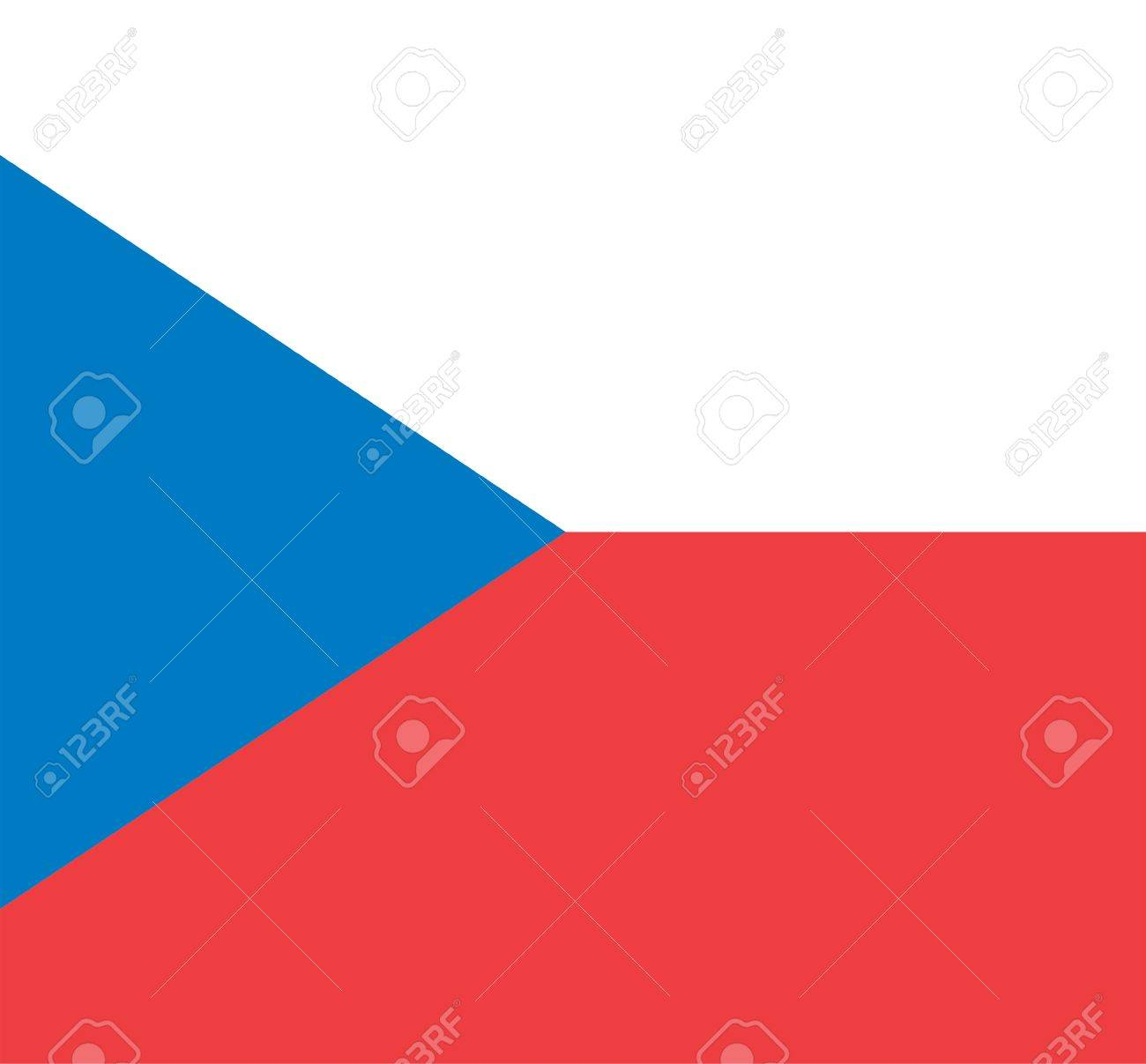 National Flag Of Czech Republic Country World Czech Republic 1300x1207