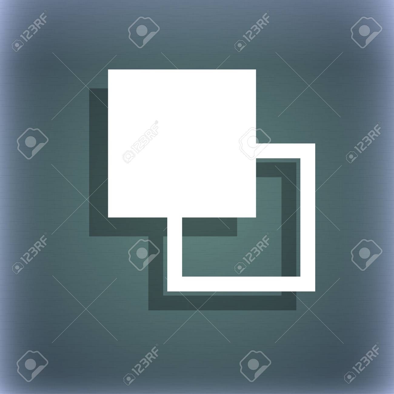 Active Color Toolbar Icon Symbol On The Blue green Abstract 1300x1300