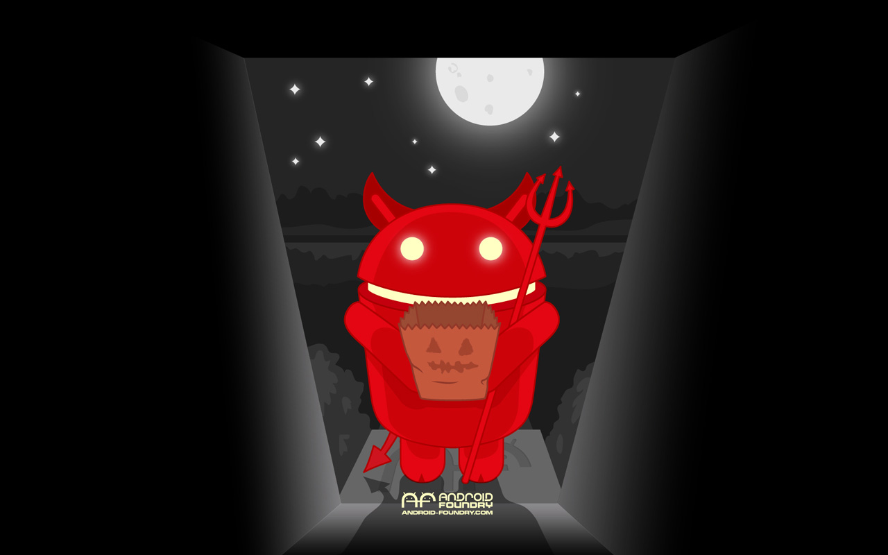 Download a cool Halloween Wallpaper for your Android device or 1280x800
