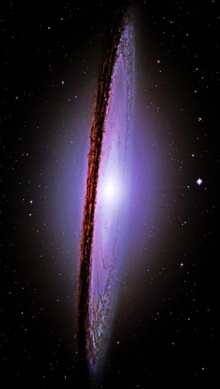 The Majestic Messier 104 M 104 Sombrero Galaxy Hubble 736x1302