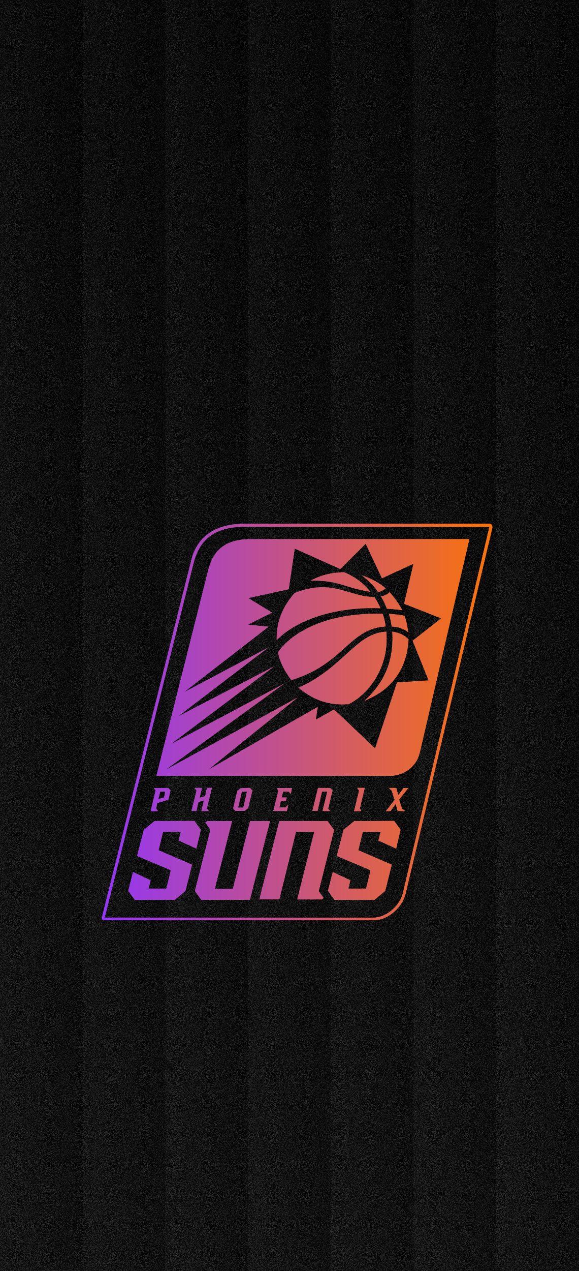 Phoenix Suns Gradient Wallpaper Phoenix suns basketball Phoenix 1140x2500