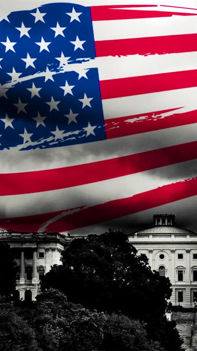 49 American Flag Wallpaper Iphone 6 On Wallpapersafari