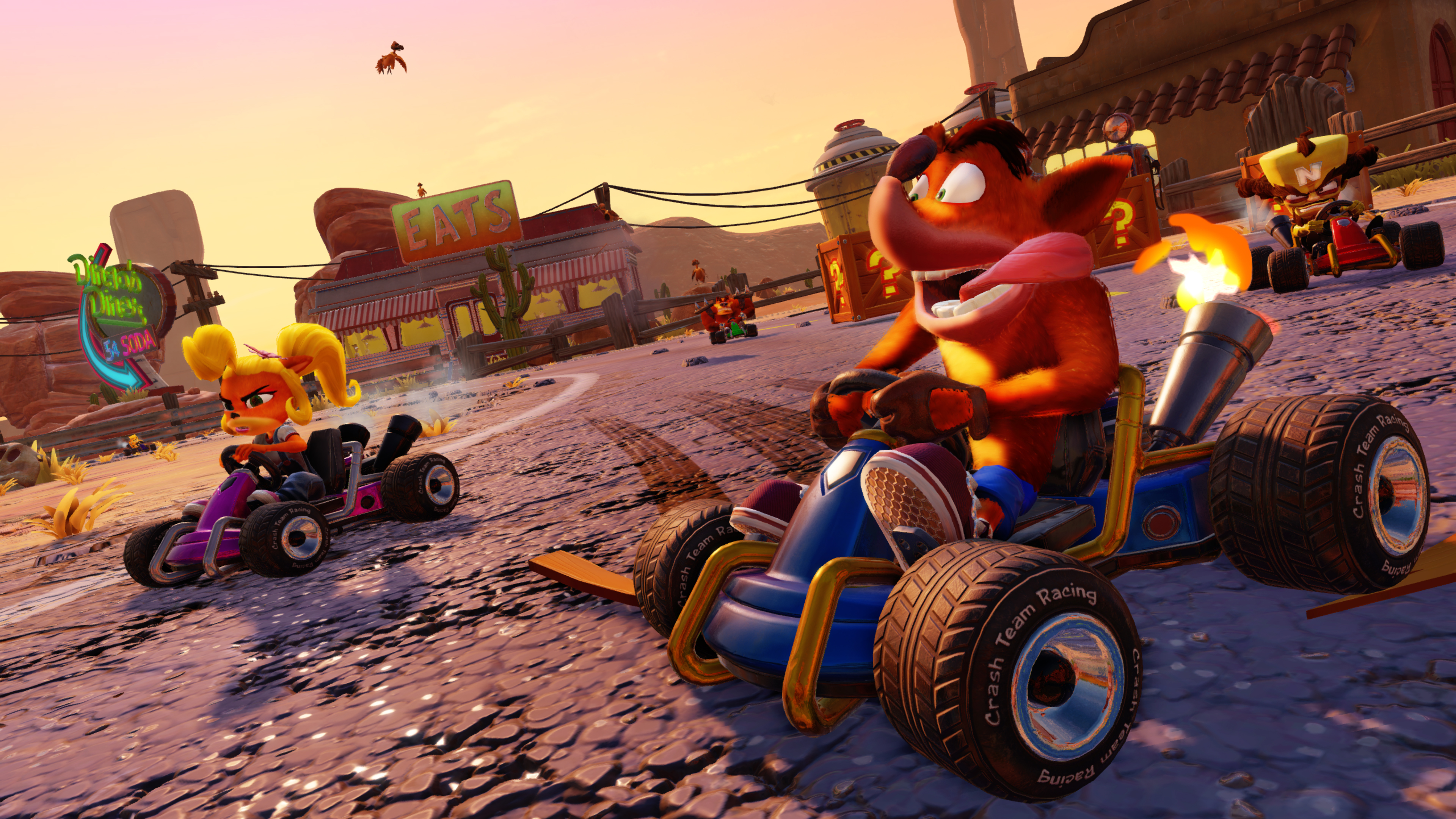 Crash Team Racing Nitro Fueled 4k Ultra HD Wallpaper Background 3840x2160