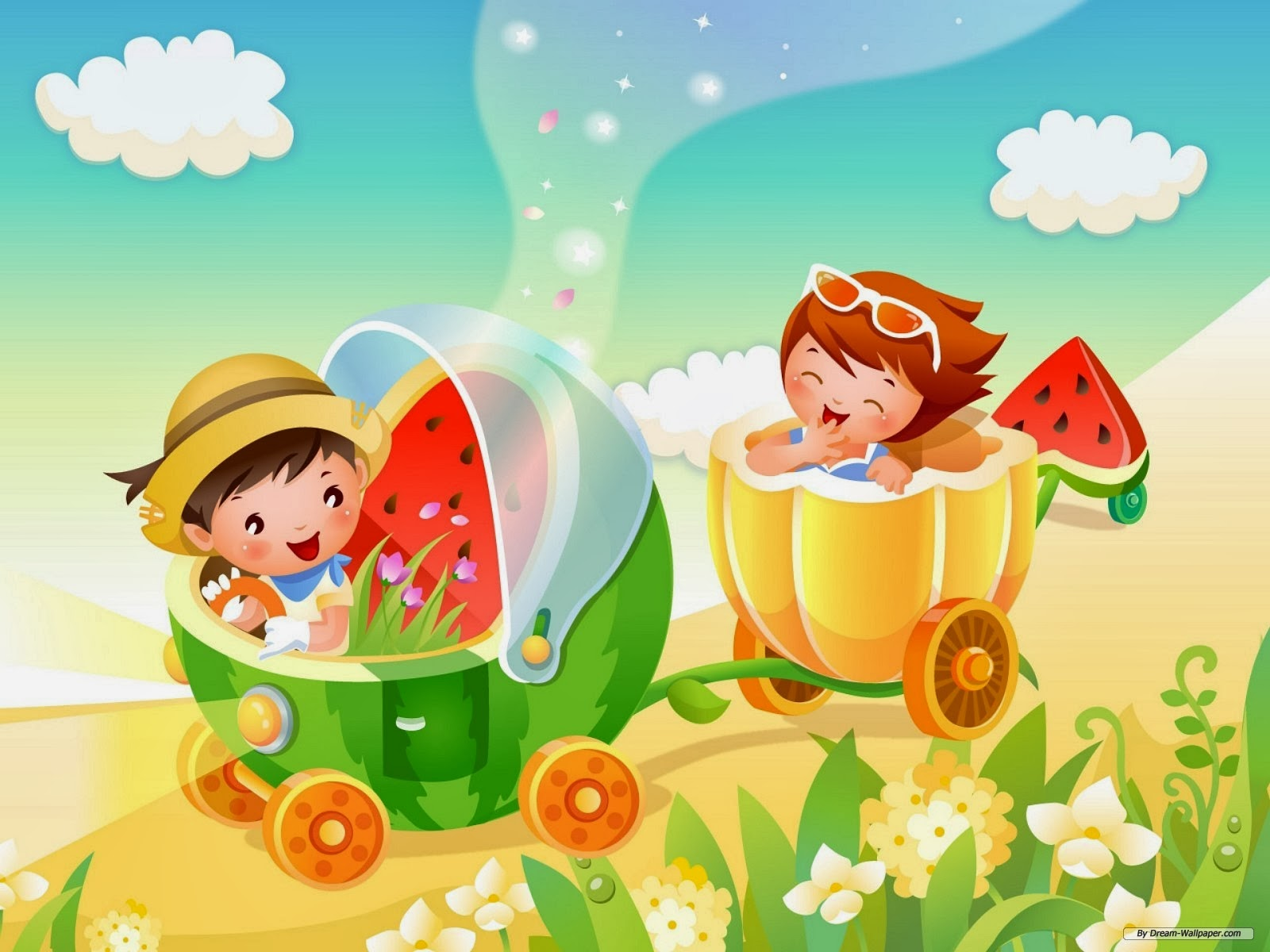 Cute kids wallpaper children game   beautiful desktop wallpapers 2014 1600x1200
