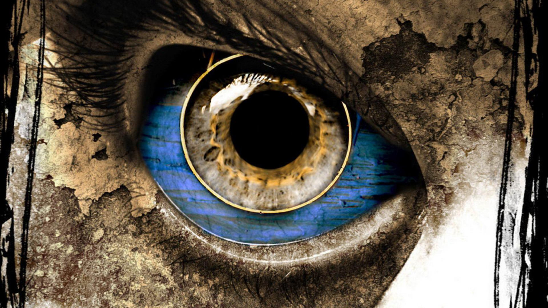 Beautiful Eyes Art 3D HD Wallpapers Downloaded with best 1920x1080