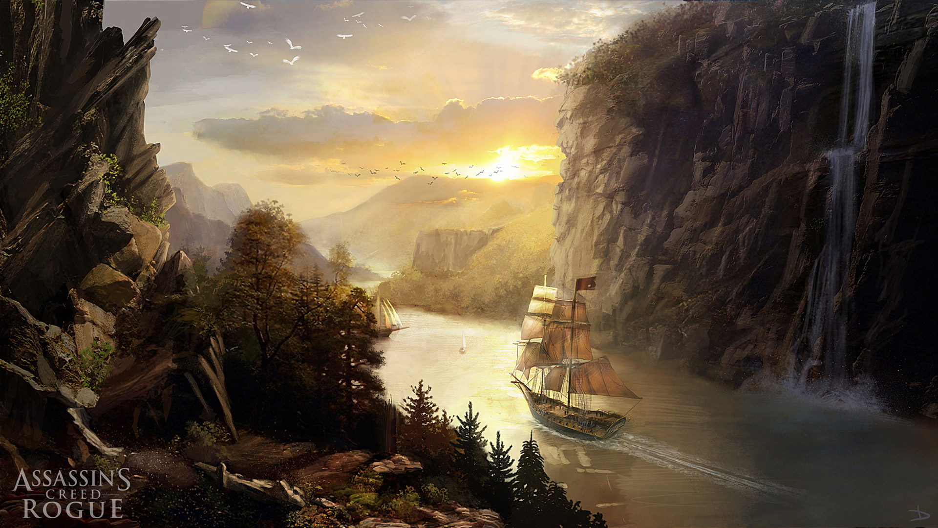 Assassin's Creed Rogue Wallpaper 1080p - WallpaperSafari