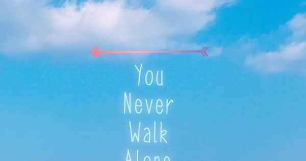 BTS You Never Walk Alone wallpaper BTS Pinterest You 600x315