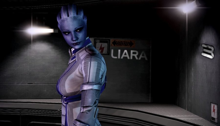 Liara T Soni Wallpaper Wallpapersafari