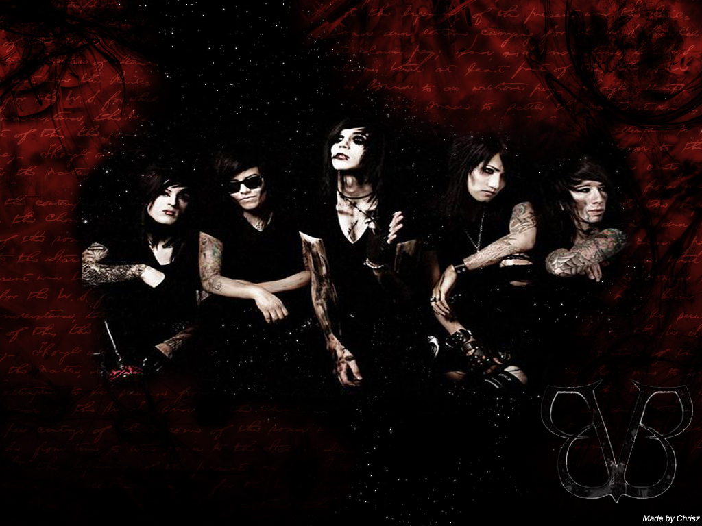 black veil favoriteblackveilbrides black veil brides wallpaper 1024x768