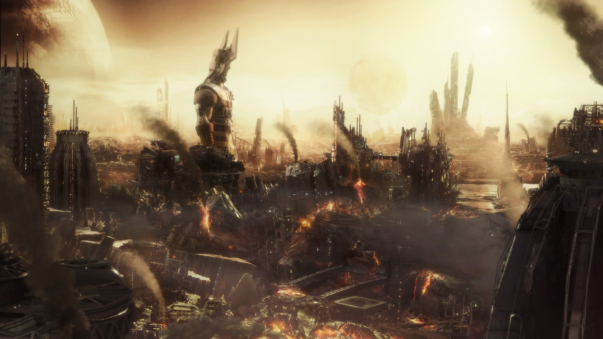Destroyed city wallpaper   37844 1920x1080