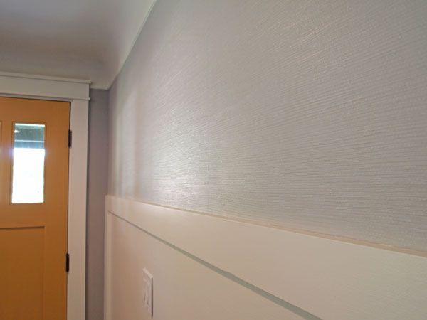 diy painting over grasscloth wallpaper 2015   Grasscloth Wallpaper 600x450