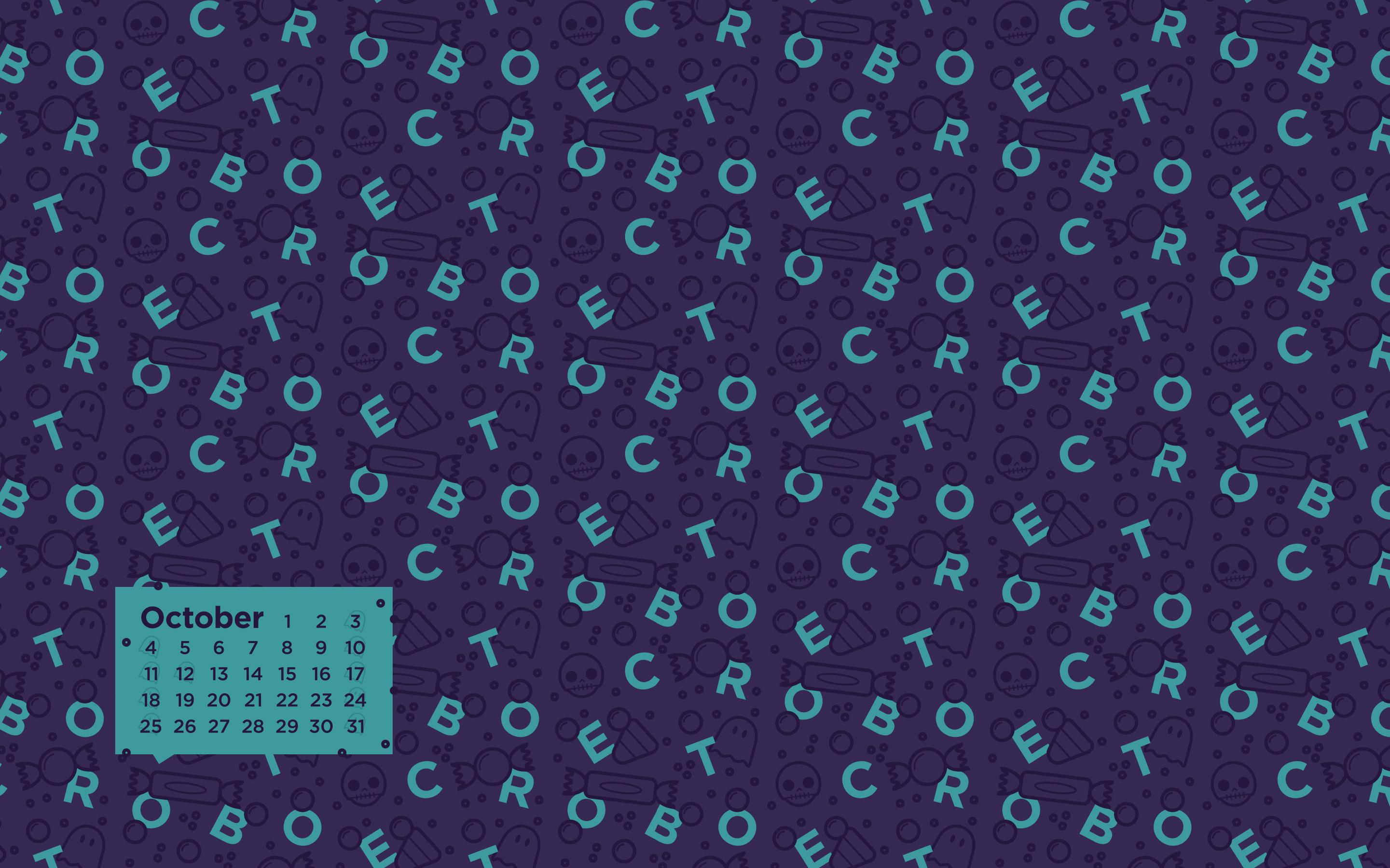 so you can download the October 2015 Desktop Calendar Wallpaper 2881x1800