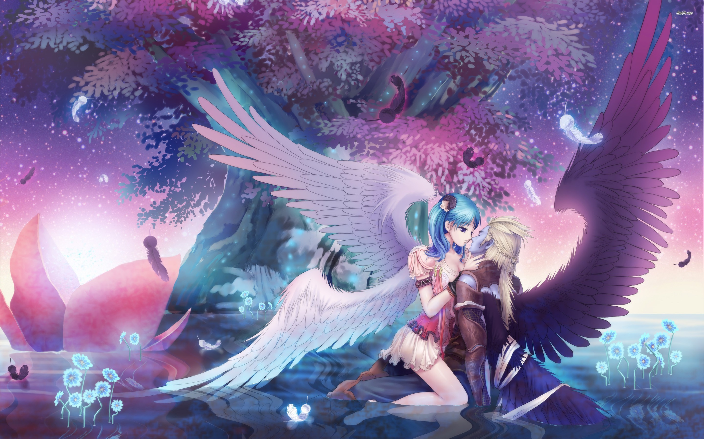 Angel Kiss Wallpaper Anime Wallpapers 21424 2880x1800