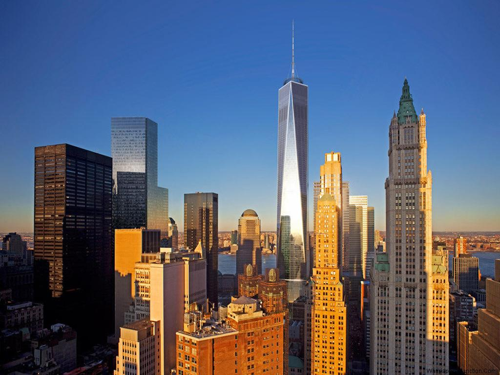Free Download One World Trade Center Abbreviated As 1 Wtc And