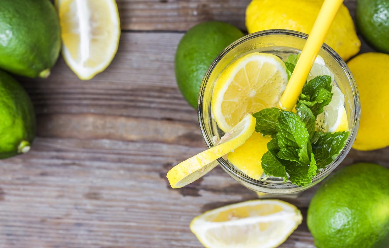 Wallpaper lemon lemon drink mint lemonade drink mint 1332x850