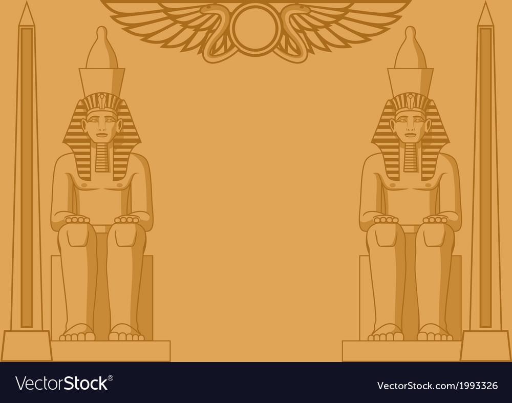 Egyptian Background Royalty Vector Image   VectorStock 1000x787