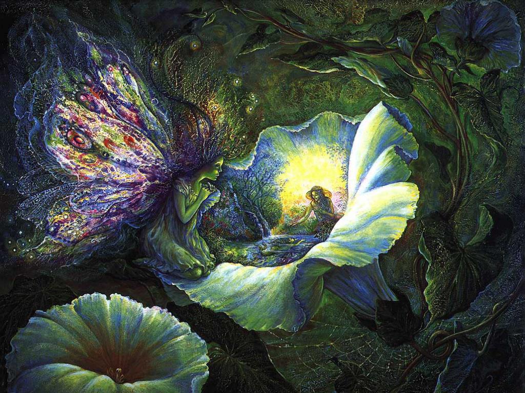 Pollys Fairy Wallpaper 1024x768
