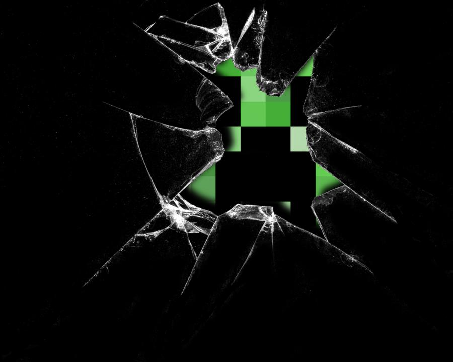 Pin Minecraft Creeper Windows Desktop 900x720