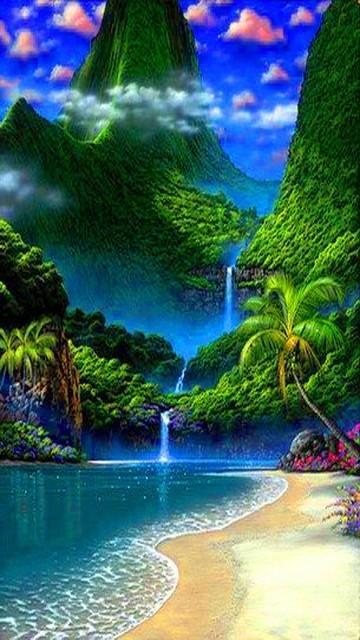 Exotic Island 360x640