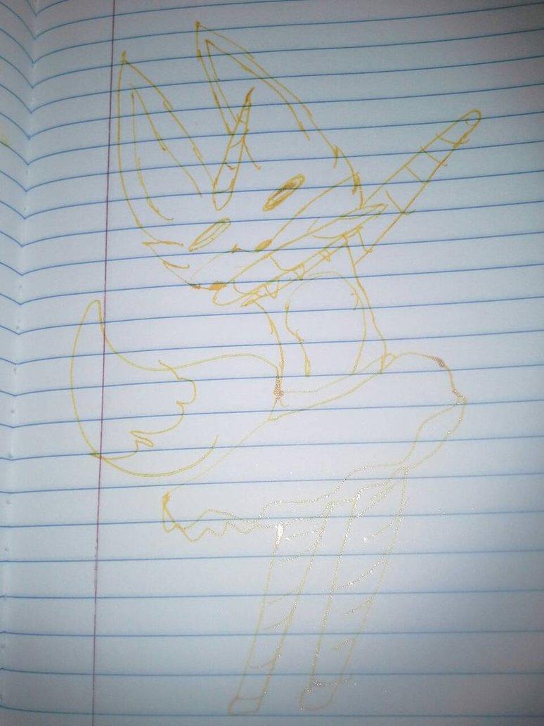 Dabbing Magical Unicorn Fox by endergirlgammer 774x1032