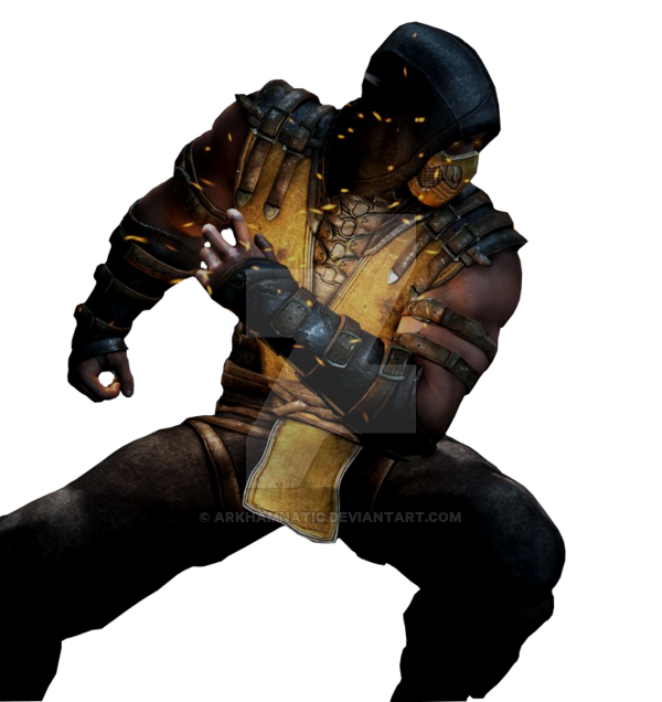 MKX Scorpion render 2 by ArkhamNatic 600x636