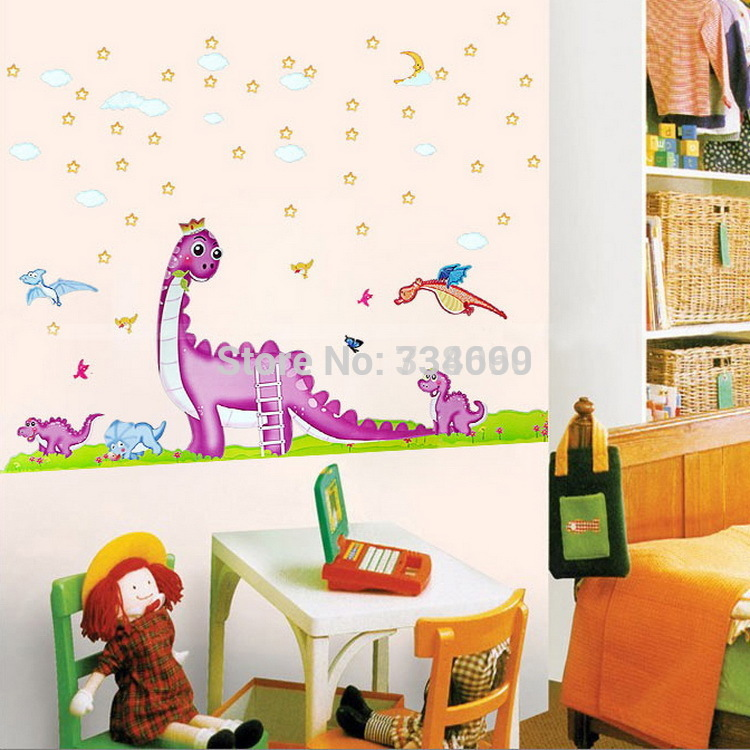 Dinosaur wallpaper for kids room wallpapersafari for Kids room wall paper