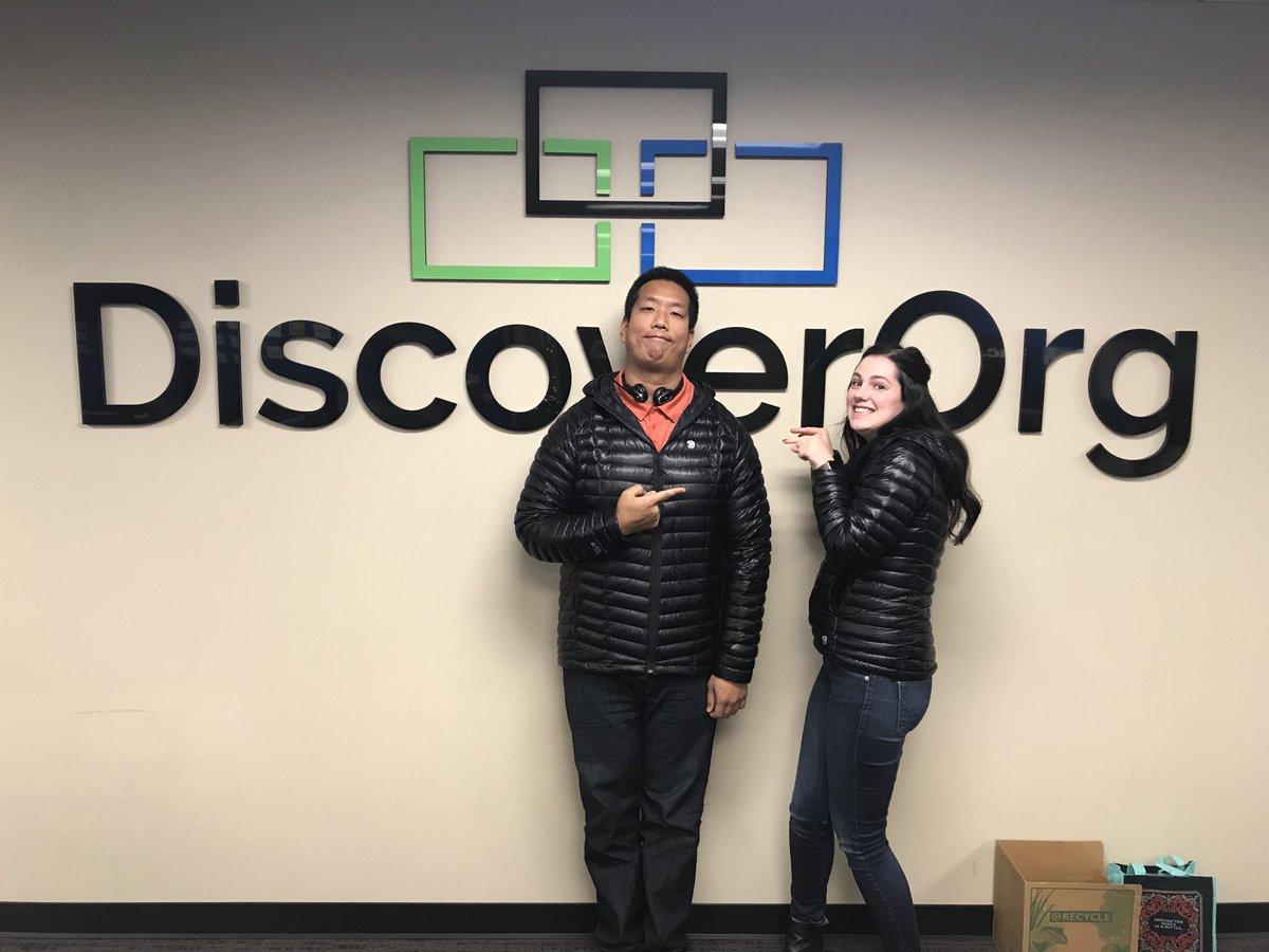 DiscoverOrg on Twitter Two things never stop in this office The 1200x900