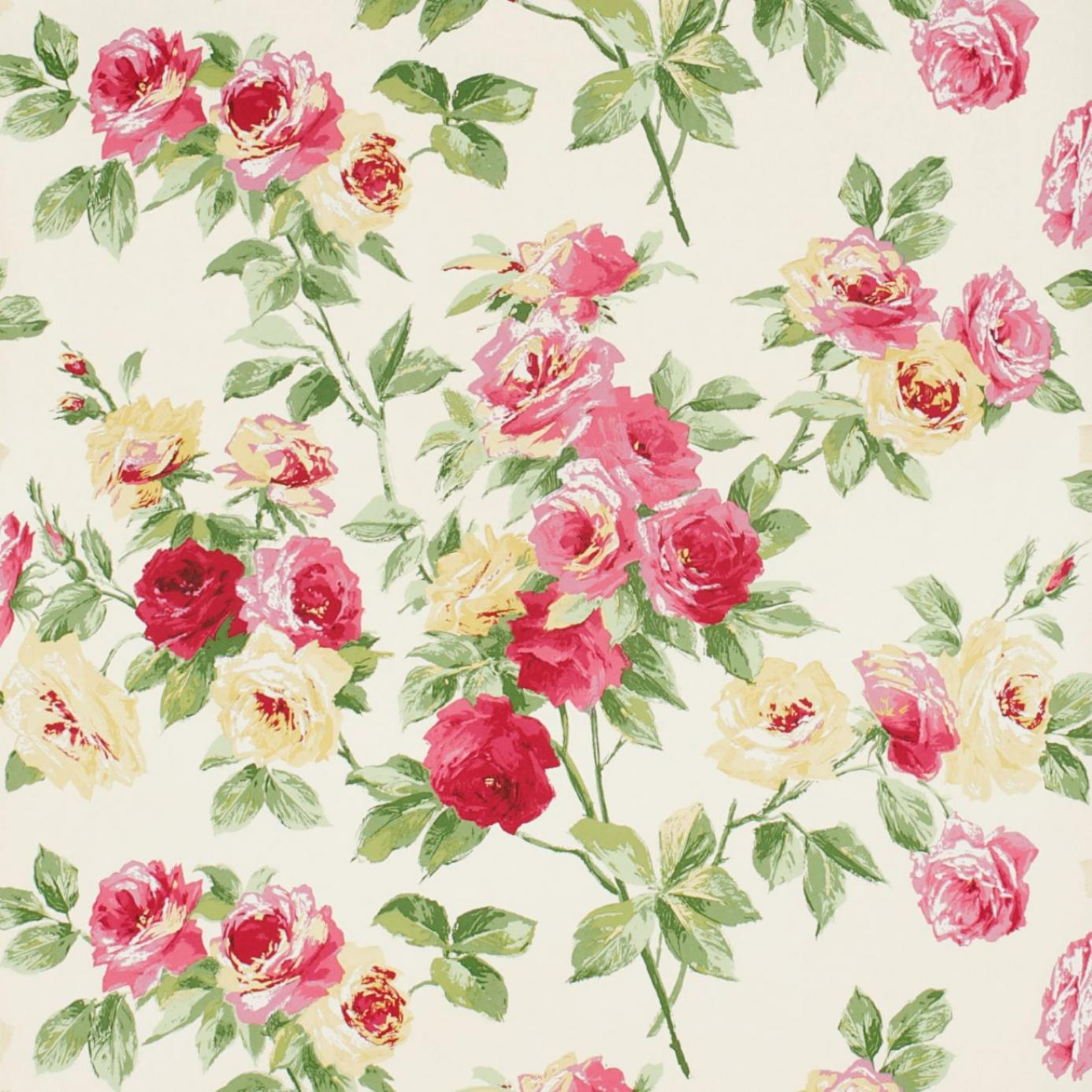 Home Wallpapers Sanderson Vintage Wallpapers Eglantine Wallpaper 1386x1386