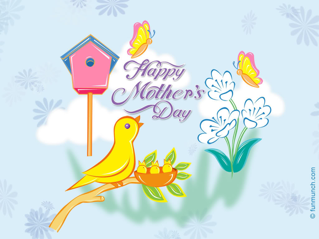 Mothers Day Cartoon Wallpapers Desktop Background Wallpapers 1024x768