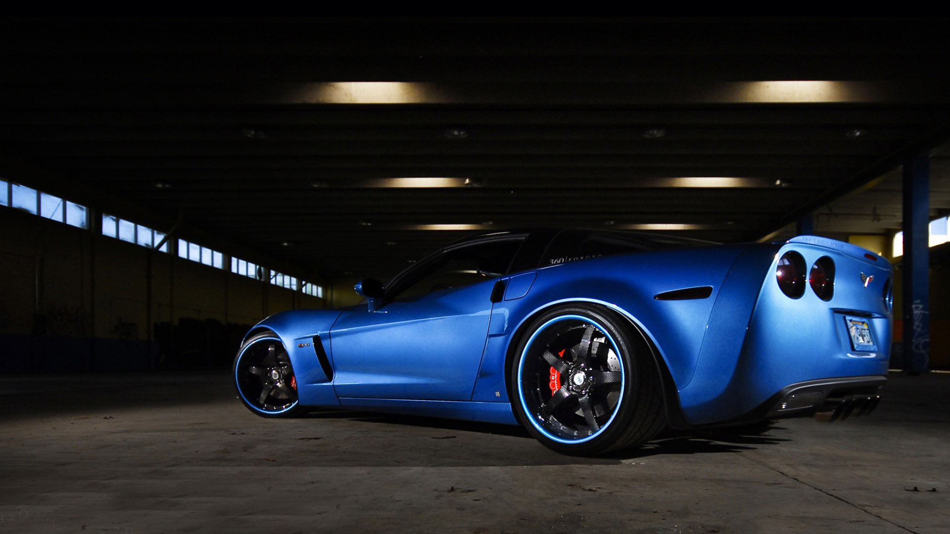 2014 Corvette Zr1 Blue