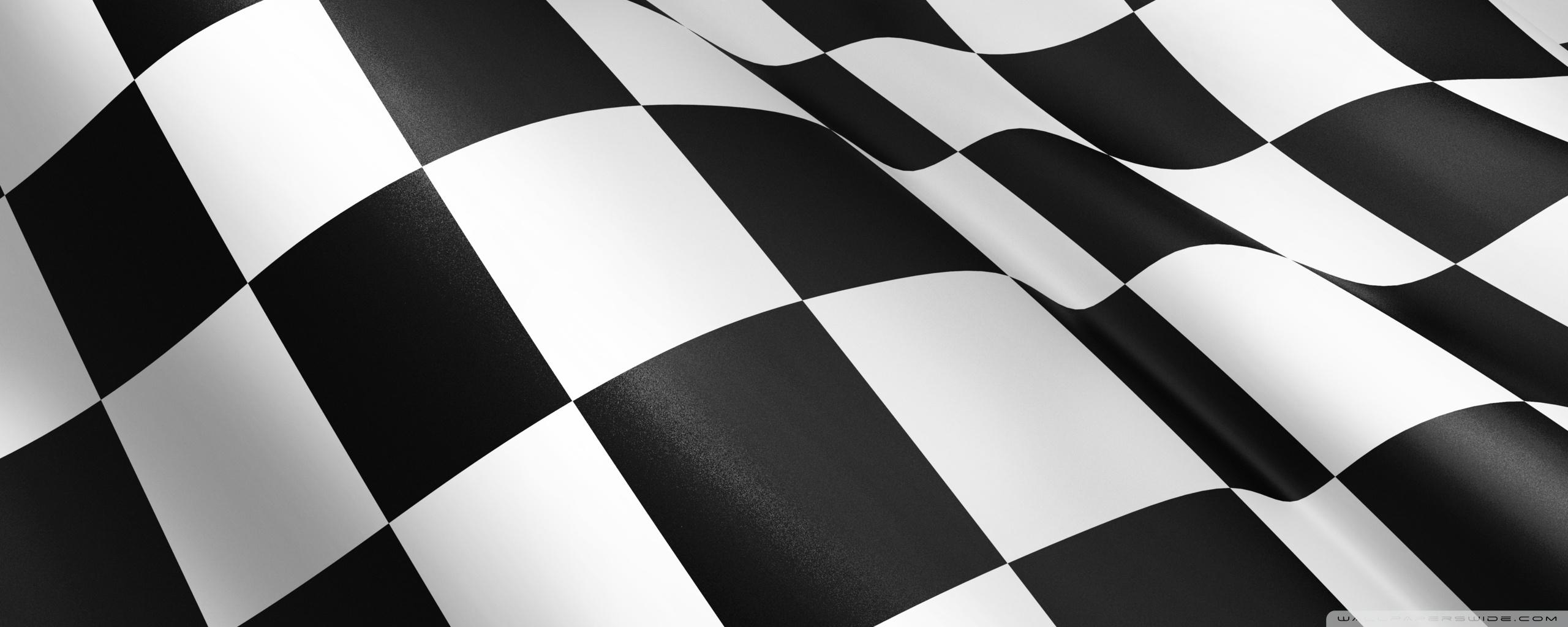 Racing Flag 4K HD Desktop Wallpaper for 4K Ultra HD TV Dual 2560x1024