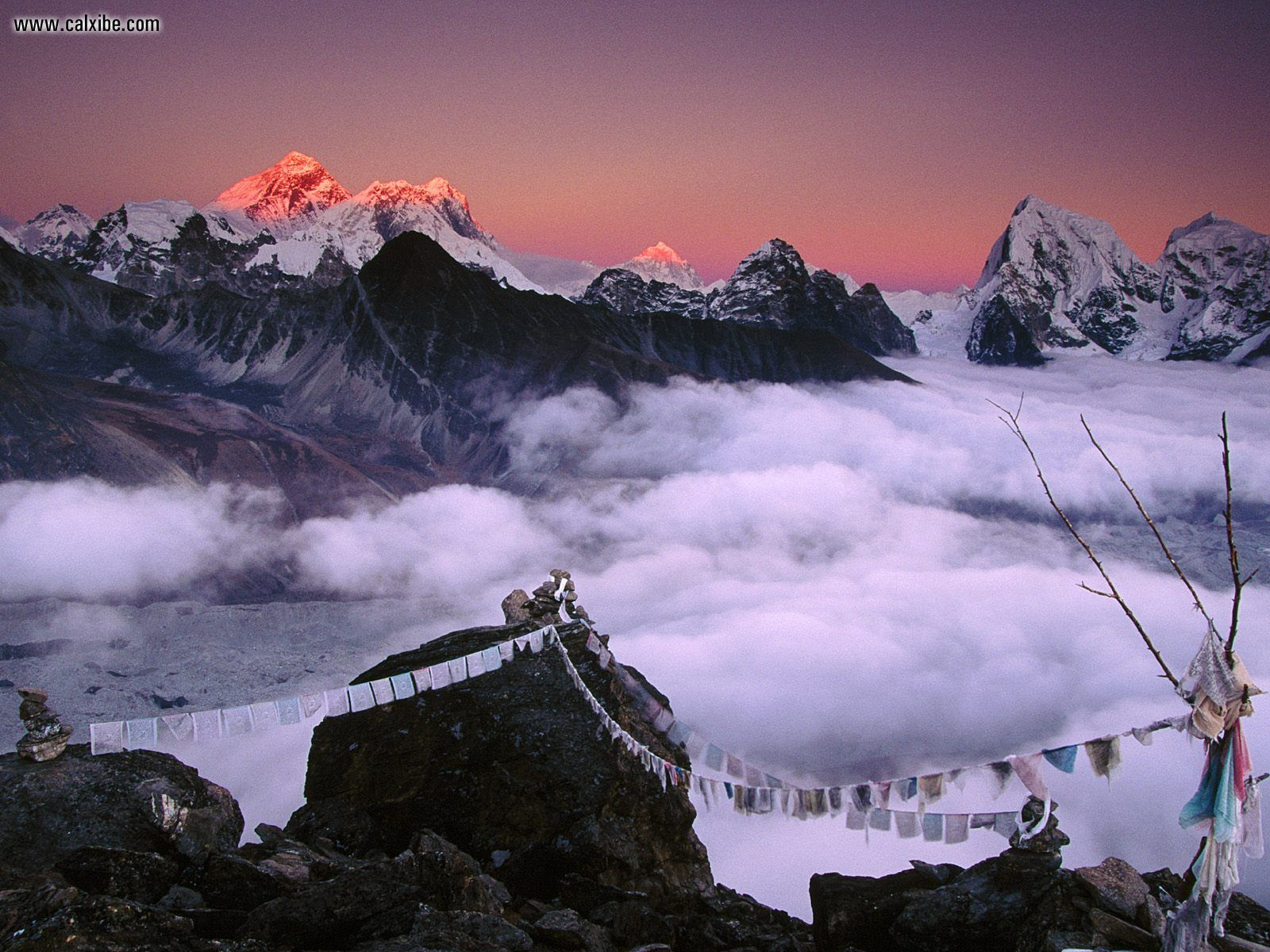 Nature From Everest To Taweche Himalayas Nepal picture nr 16263 1600x1200