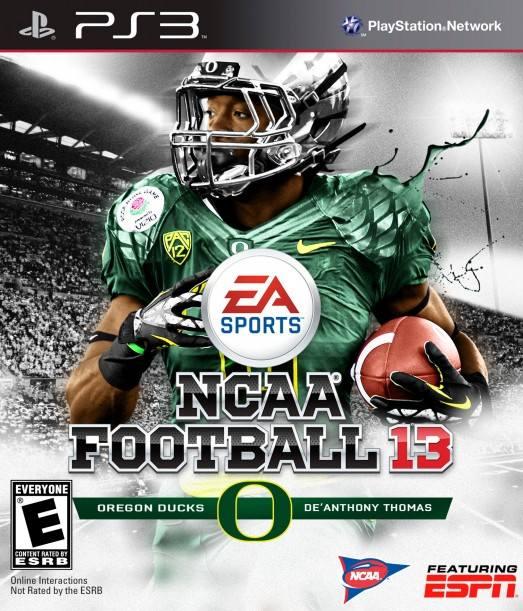 NCAA Football 13 Cover 523x611