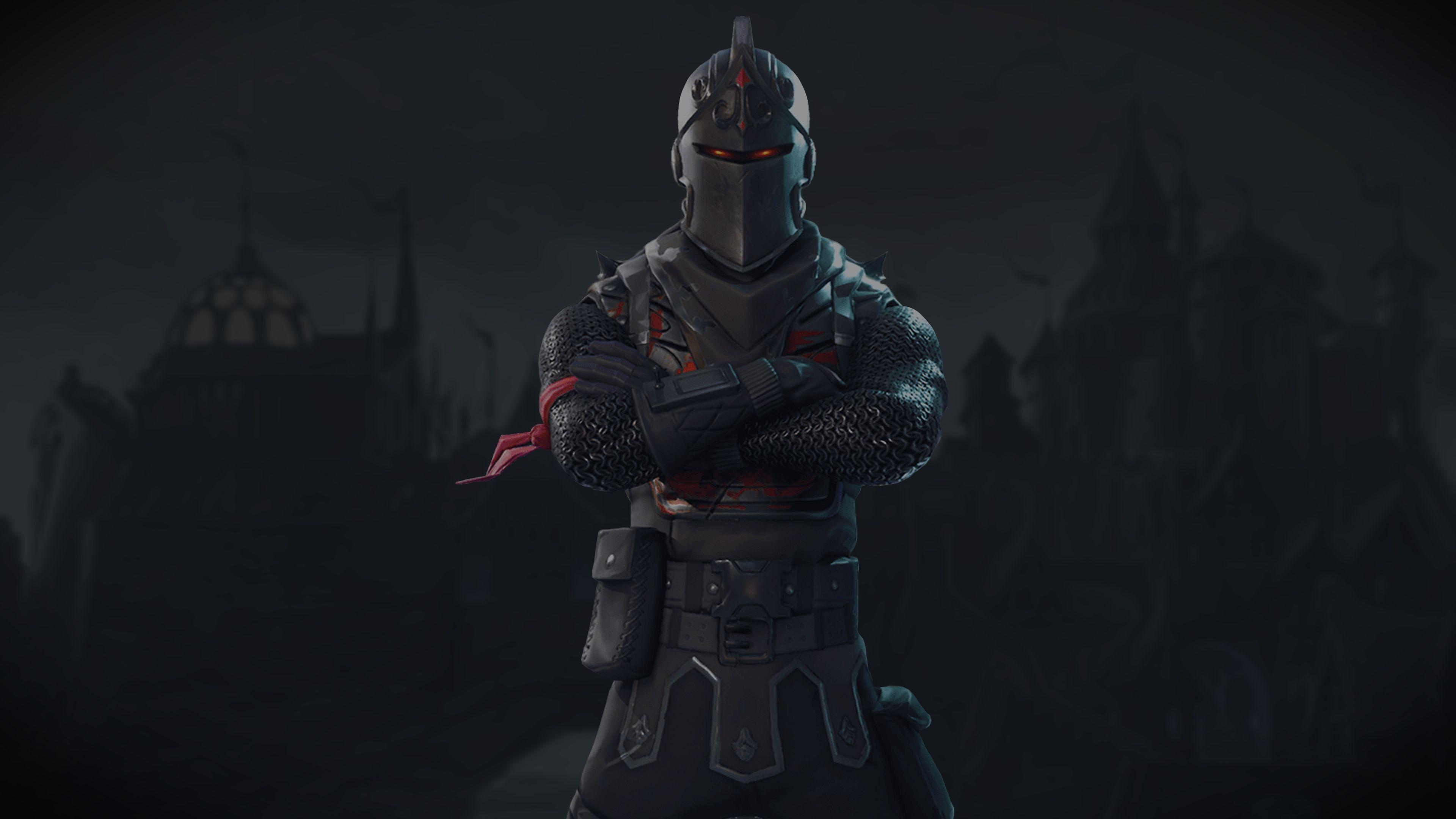 Black Knight Fortnite Battle Royale Video Game 3840x2160 3840x2160