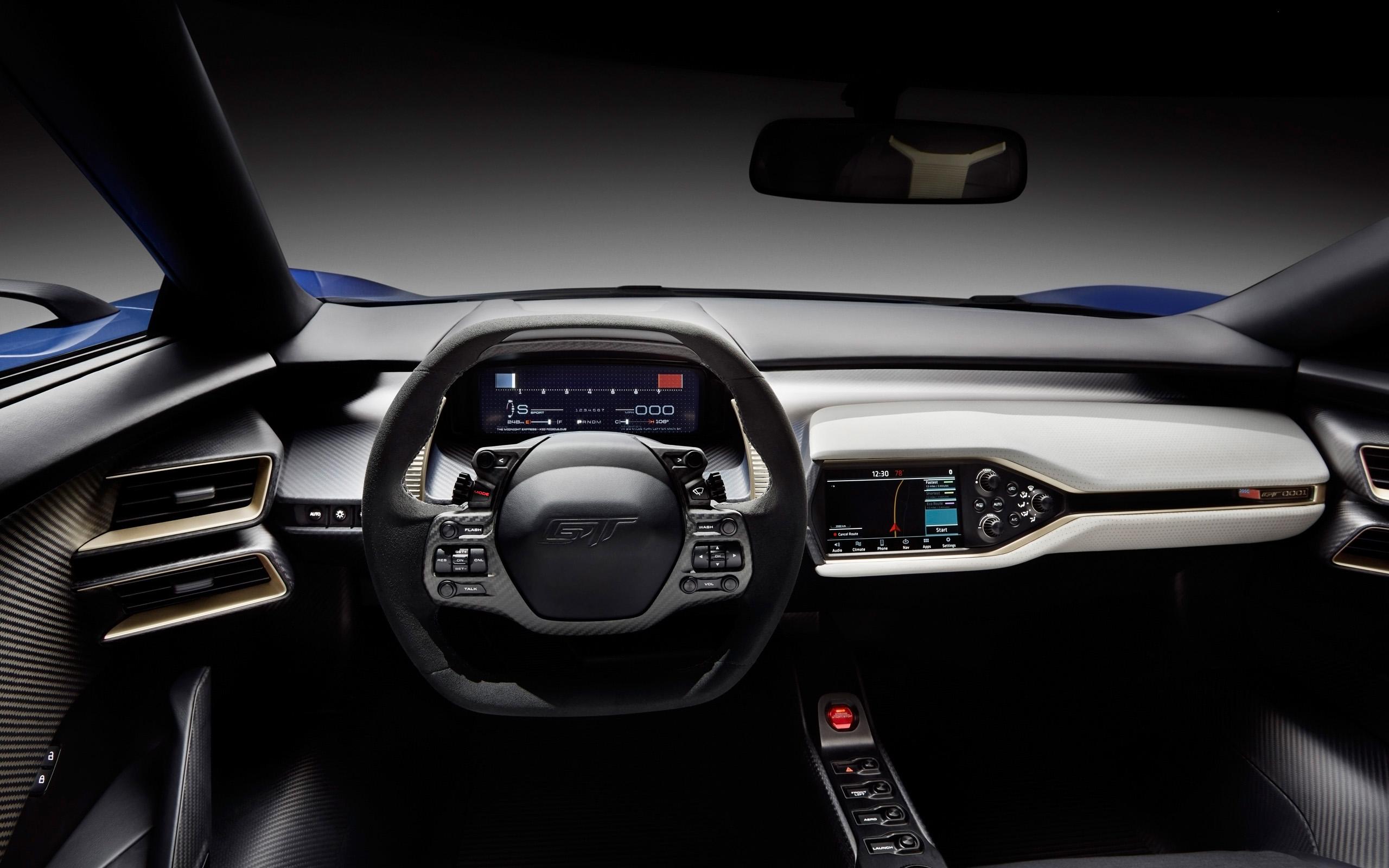 2016 Ford GT   Interior   2   2560x1600   Wallpaper 2560x1600