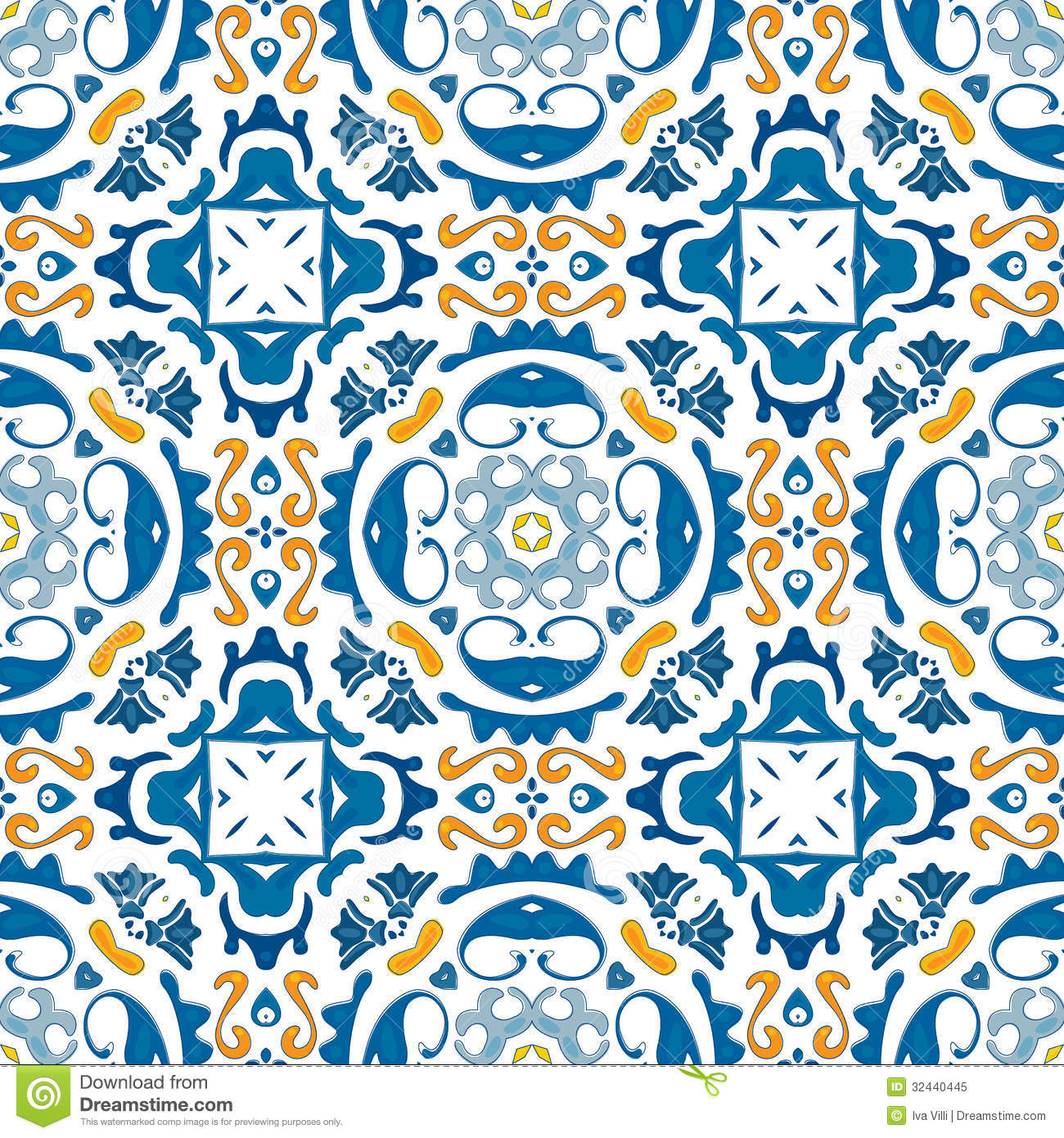Spanish Tile Pattern Portuguese tiles 1300x1390