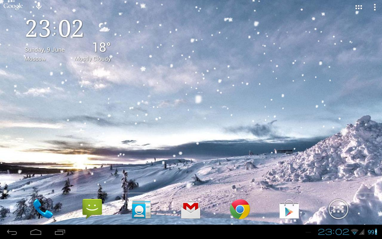 Snowfall Live Wallpaper Apk Full HD Wallpapers 1280x800