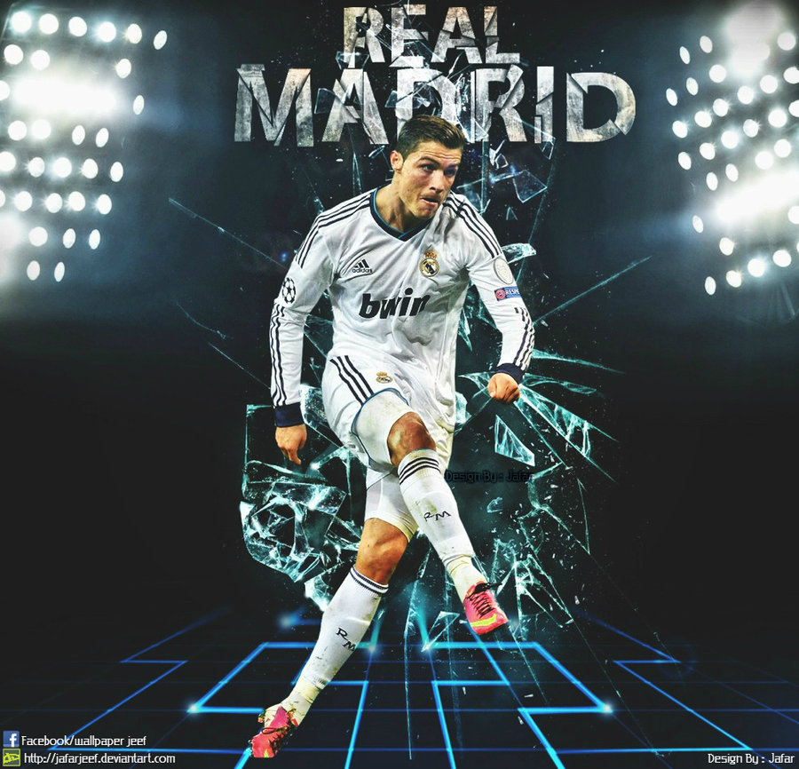 Real Madrid Logo Wallpaper Hd: Real Madrid Cristiano Ronaldo Wallpaper