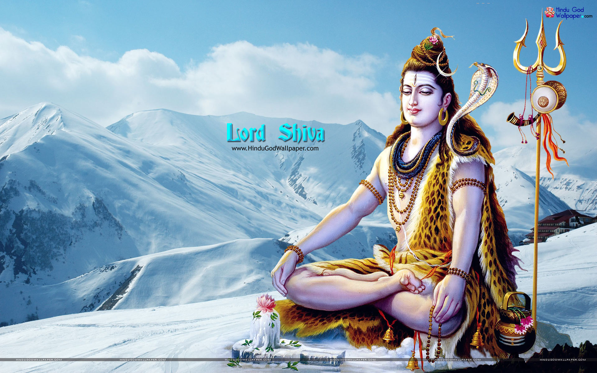 Lord Shiva Wallpaper Full Size Download 1920x1200