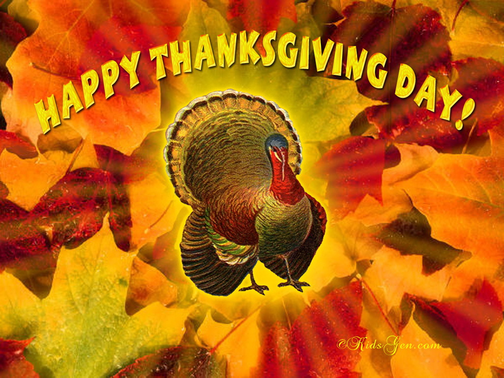 Pics Photos   Thanksgiving Wallpapers Screensavers 1024x768