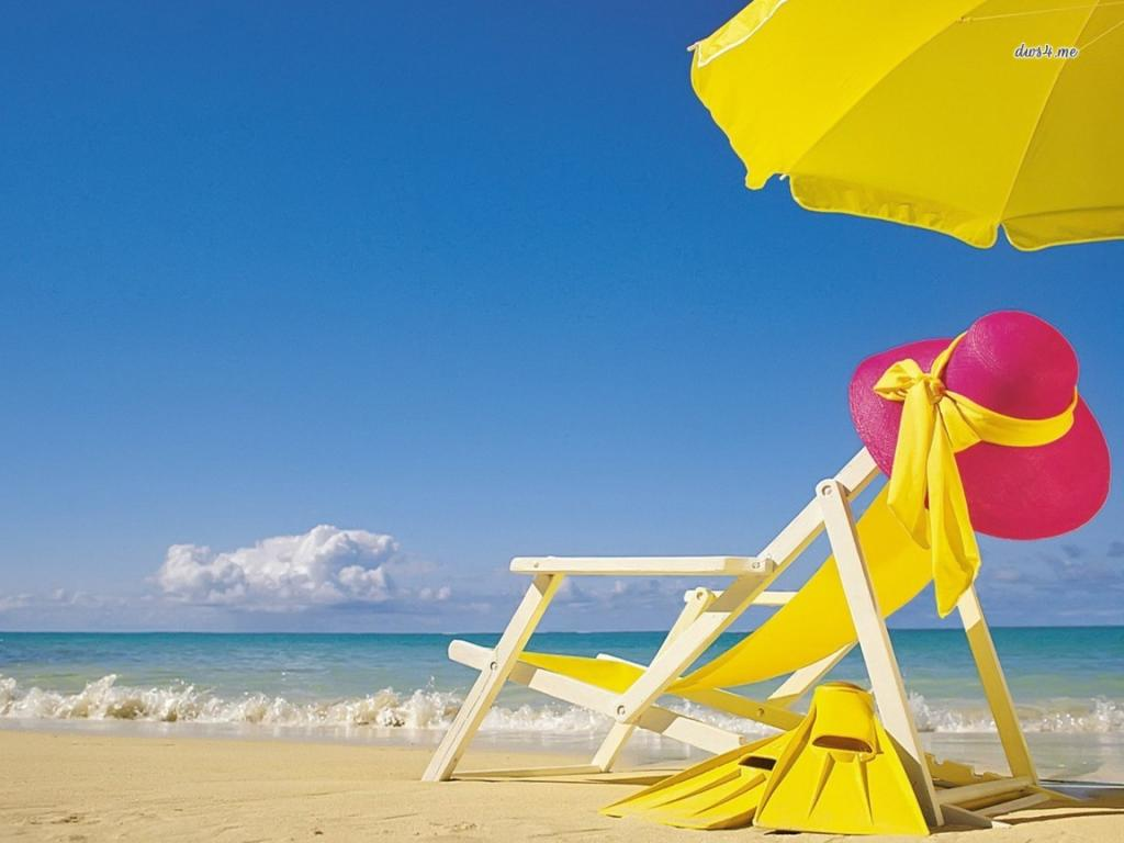 Summer Beach Desktop Backgrounds 1024x768