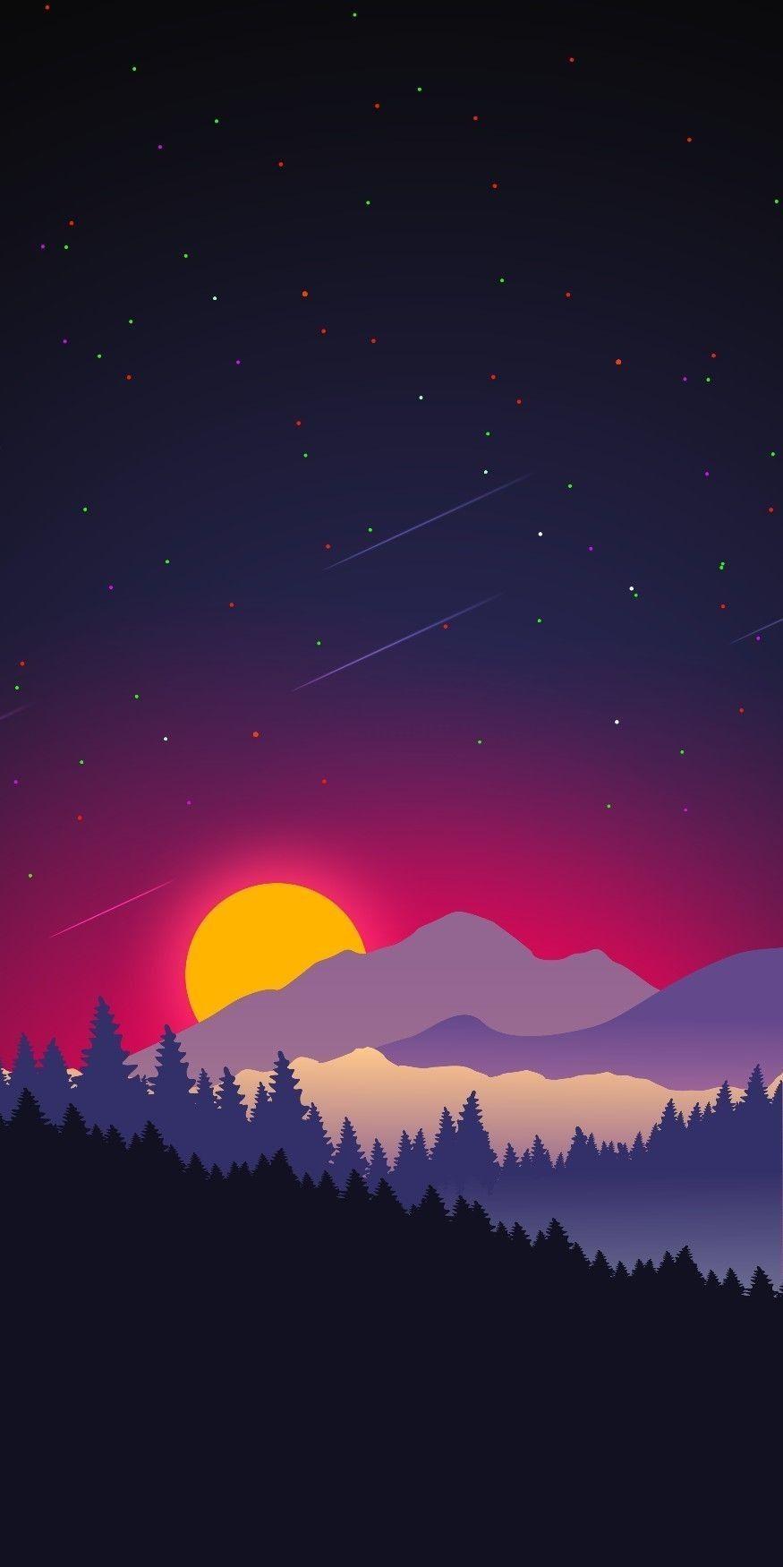 50 Best Illustration Wallpaper For Phone Graphic wallpaper 875x1750