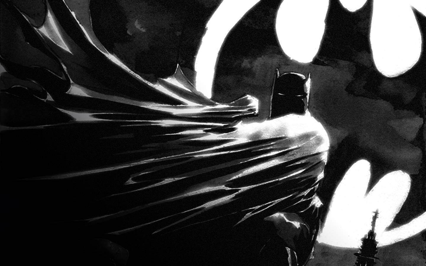 Batman wallpaper17 batman cinematic wallpaper 1440x900