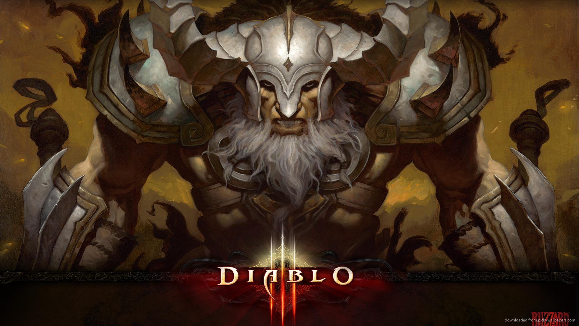 Download 1920x1080 Diablo 3 Unlocked Exclusive Barbarian Wallpaper 1920x1080