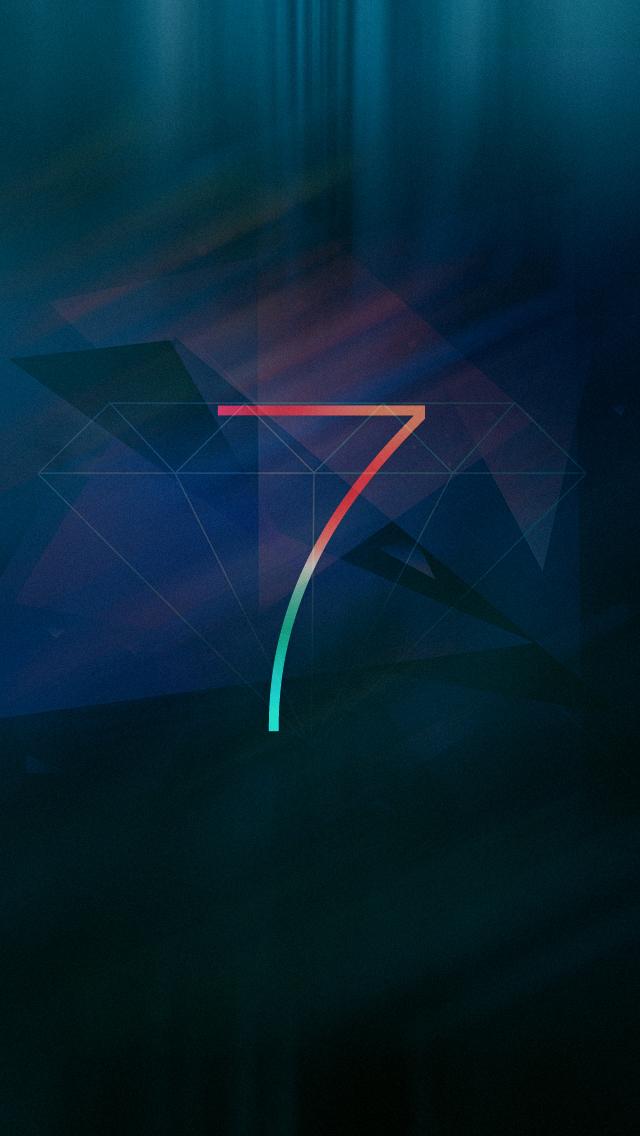iOS 7 Diamond iPhone 5 Wallpaper (640x1136)
