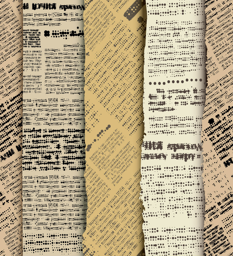 Wall Paper Newspaper Print PVC Wallpaper by Print A Wallpaper 800x880